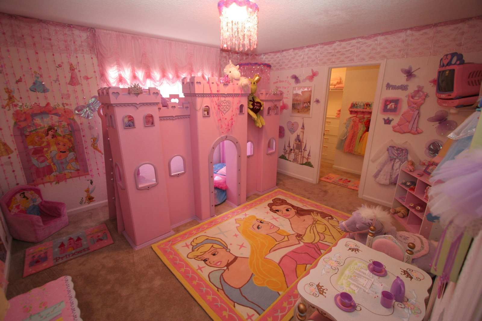 Ballerina themed bedroom
